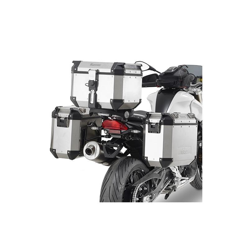 Support spécifique et platine Kappa pour top case Monokey BMW F 800GT 13-18