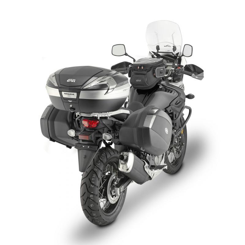 Supports de valises latérales Monokey Side Givi PLX Suzuki DL 650 V-Strom 17-20