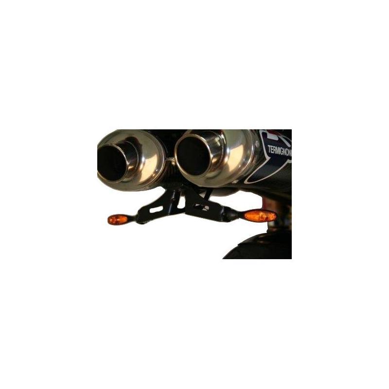 Support de plaque d'immatriculation R&G Racing noir Benelli TNT 1130 Cafe Racer 04-17