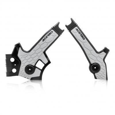 Protection de cadre Acerbis X-Grip Suzuki DR 650 96-00 noir/argent