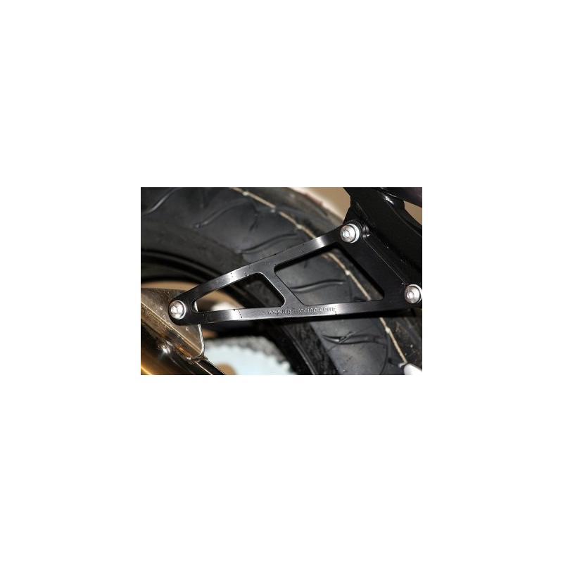 Patte de fixation de silencieux R&G Racing noire Honda CBR 900 RR 02-03 l'unité