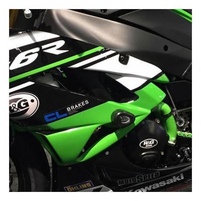 Couvre carter gauche (alternateur) R&G Racing noir Kawasaki Z 1000 11-18