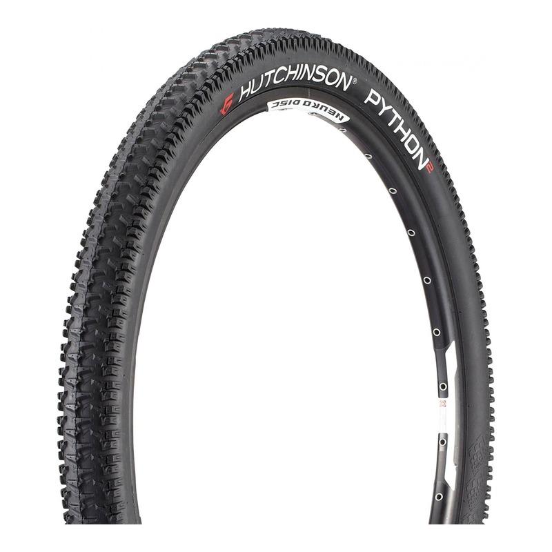 Pneu vélo VTT Hutchinson Python 2 TR noir (27,5''X2.25'')