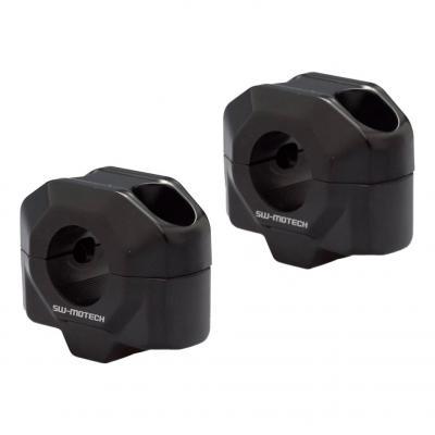 Réhausse de guidon SW-MOTECH guidon Ø22 mm noir