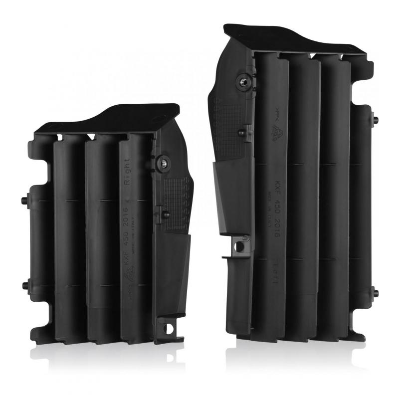 Protection de radiateur Acerbis Kawasaki 450 KX 19-21noir