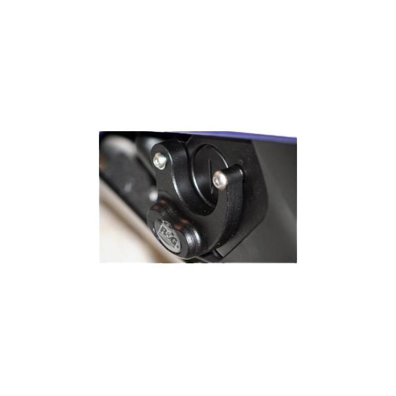 Slider moteur droit R&G Racing noir Yamaha YZF-R6 08-18