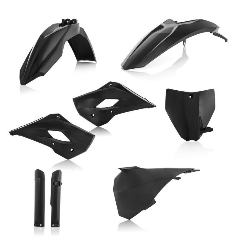 Kit plastique complet Acerbis Husqvarna 85 TC 14-17 noir