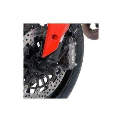 Tampons de protection de fourche R&G Racing noirs Triumph Street Triple 765 17-18