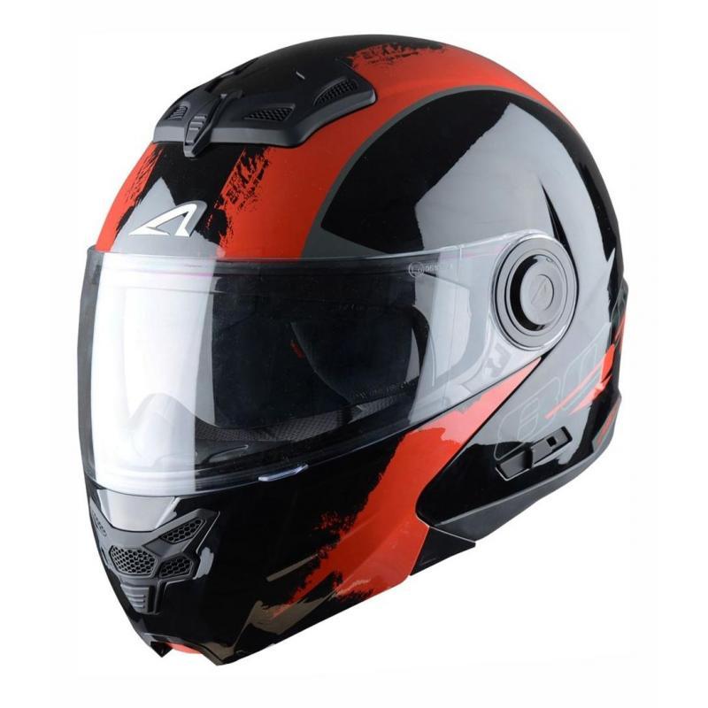 Casque Modulable Astone Rt800 Graphic Exclusive Venom noir/rouge