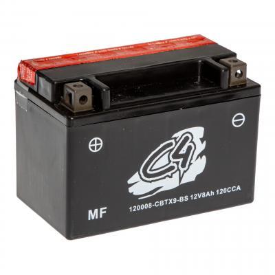 Batterie C4 CBTX9-BS 12V 8Ah