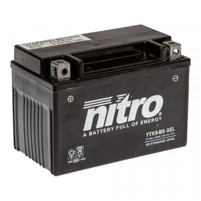 Batterie Nitro YTX9-BS 12V 8 Ah Gel