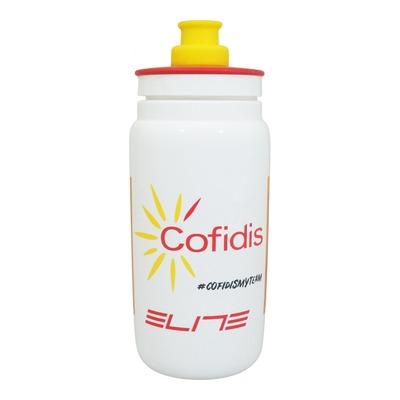Bidon Cofidis Elite 5550ml blanc/rouge/jaune