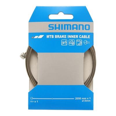 Câble de frein VTT Shimano SUS Ø1,6mm x 2,05m
