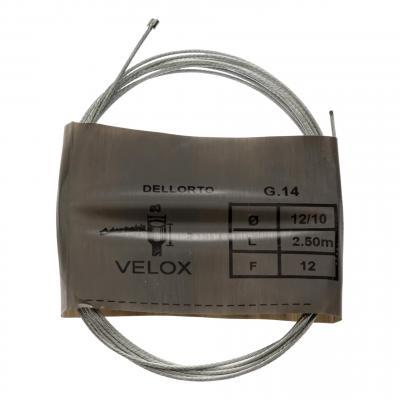 Câble de gaz cyclo Piaggio Ciao/Dellorto 2m50