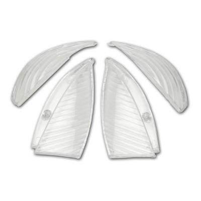 Cabochons Clignotant Blancs (x4) Vivacity