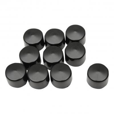 Caches boulons Drag Spécialties Ø 1/4'' boulon 7/16'' lot x10 noir