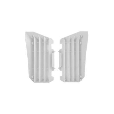 Caches de radiateur Polisport Yamaha 450 YZ-F 07-09 (blanc origine)
