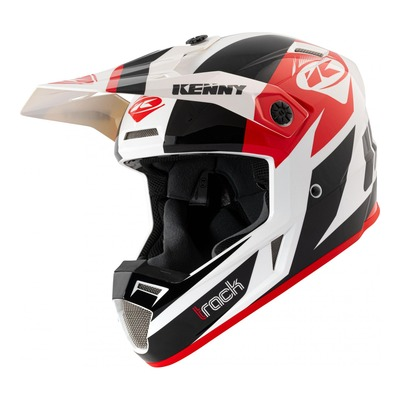 Casque cross Kenny Track Graphic noir/rouge