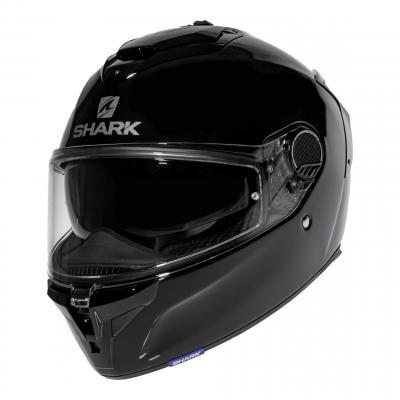 Casque intégral Shark Spartan GT Blank noir brillant
