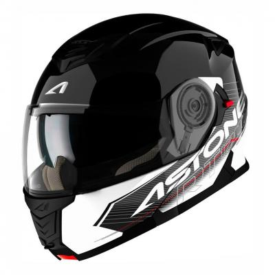 Casque Modulable Astone Rt 1200 Graphic Touring noir/blanc