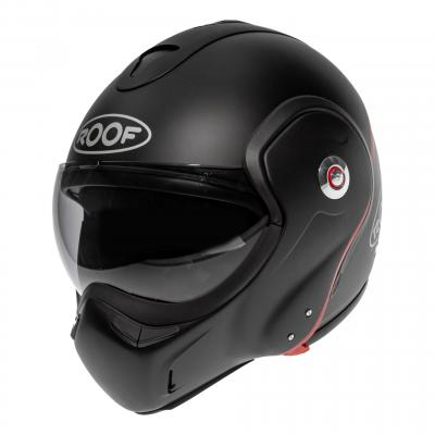 Casque modulable Roof RO9 Boxxer Carbon Uni noir mat