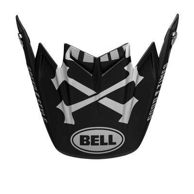 Casquette de casque cross Bell Moto-9 Flex Fasthouse WRWF noir/blanc/gris
