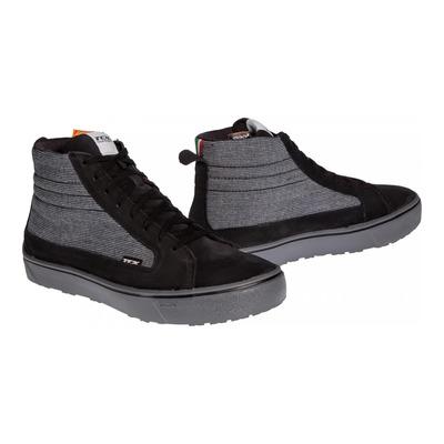 Chaussures moto TCX Street 3 Textile WP noir/gris