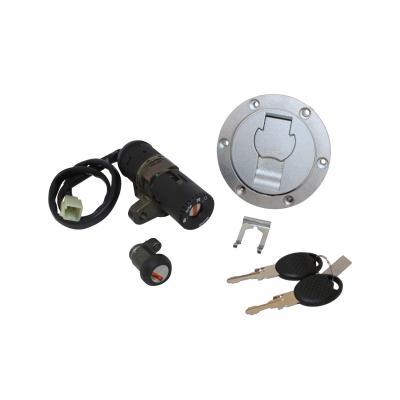 Contacteur à clé avec bouchon et serrure de selle adaptable MBK 50 x-power 2003>/Yamaha 50 tzr 2003>