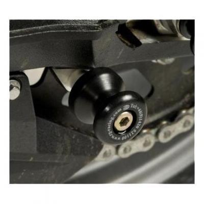 Diabolos de bras oscillant R&G Racing noir Kawasaki Z800 13-16