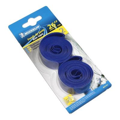Fonds de jante vélo Michelin haute pression bleu 26'' x 20mm