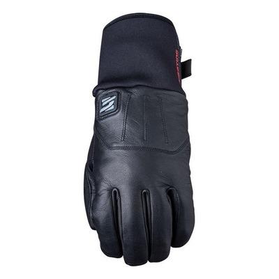Gants chauffant cuir/textile Five HG4 WP noir