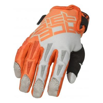 Gants cross enfant Acerbis MX X-K orange/gris