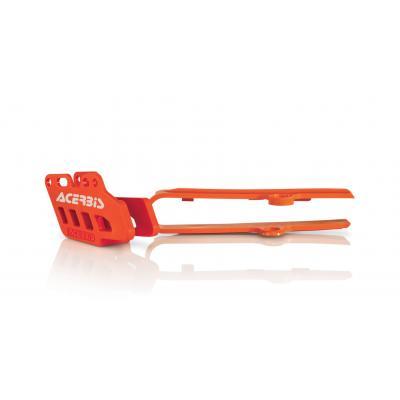 Guide de chaîne et patin de chaîne Acerbis 85 SX 06-14 orange