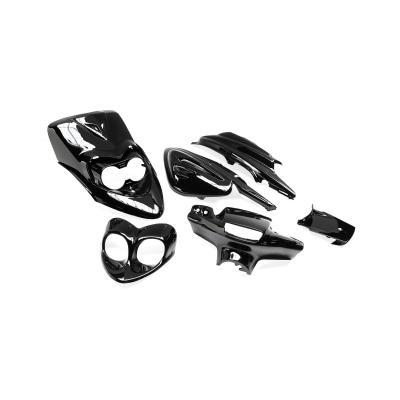 Kit carrosserie 6 pièces adaptable MBK 50 Booster ng nouveau modele/Yamaha 50 BW's ng nouveau modele
