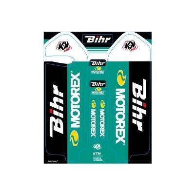 Kit de déco de fourche Kutvek Bihr/Motorex KTM SX-SXF