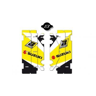 Kit déco de radiateur Blackbird Dream Graphic 3 Suzuki 125 RM 01-09 jaune/noir