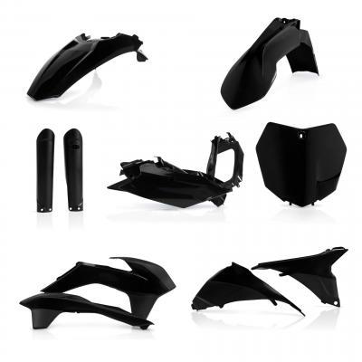 Kit plastiques complet Acerbis KTM 125 SX 2015 noir