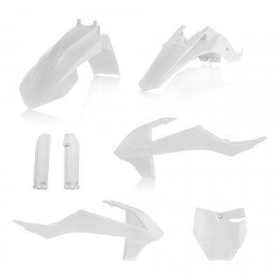 Kit plastiques complet Acerbis KTM 65 SX 2019 blanc