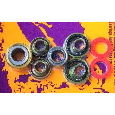 Kit roulements d'amortisseur pour ktm sx,mxc,exc125/200/250/300/380 1999-01