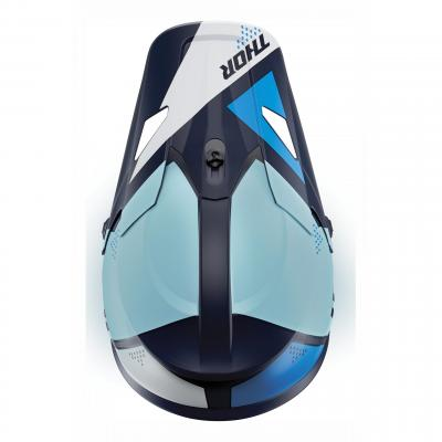 Kit visière Thor pour casque Sector Blade navy/bleu