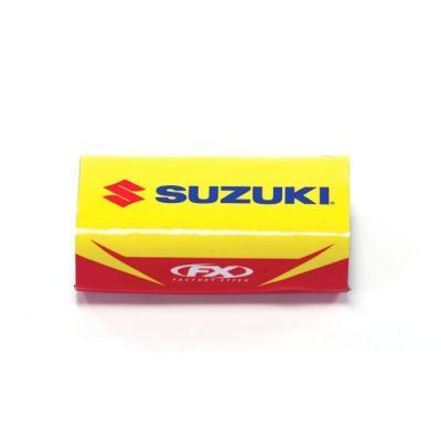 Mousse de guidon sans barre FX Factory Effex Suzuki bleu/jaune