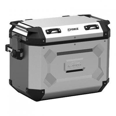 Paire de valises latérales Kappa K'Force 48+48 Litres aluminium
