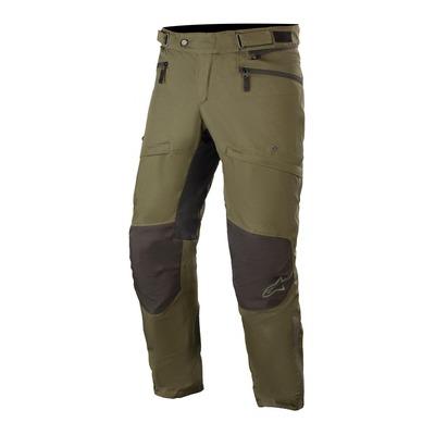 Pantalon textile Alpinestars AST-1 V2 Waterproof forest/noir (standard)