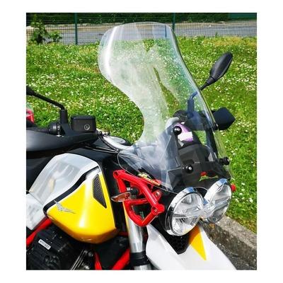 Pare-brise Bullster haute protection 57 cm transparent Moto Guzzi V85 TT 19-20