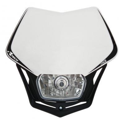 Plaque phare RTech V-Face blanche et noire