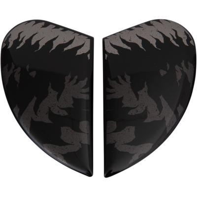 Plaques latérales Icon Airform Lycan noir