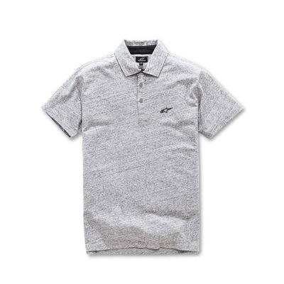Polo Alpinestars Eternal charcoal heather gris chiné