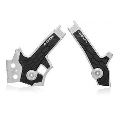Protection de cadre Acerbis X-Grip Suzuki DR 650 96-00 argent/noir