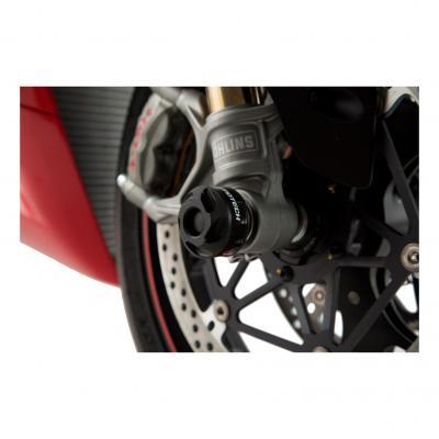 Protection de fourche avant SW-MOTECH noir Ducati 899 / 959 / 1299 Panigale, XDiavel / S