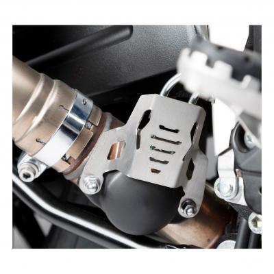 Protection de valve d'échappement SW-MOTECH gris Suzuki V-Strom 1000 14-